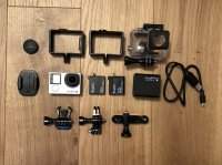 Gopro 4 black + accessoires