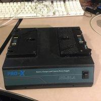 Chargeur pour 2 batteries type Anton Bauer et alimentation caméra PRO X XC-2LA