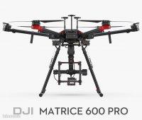 PACK COMPLET: Drone DJI M600 PRO + stabilisateur d'image RONIN