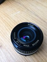 Objectif Nikon NIKKOR AIS 35mm f/2.8