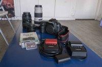 Vend Canon 5D Mark II plus 3 Objectifs