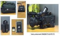 Caméra PRO PANASONIC AG HPX 371E