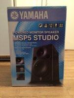 Enceintes MSP5 Studio Yamaha (monitoring) tbe