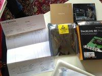 Blackmagic DeckLink 4K Pro neuve