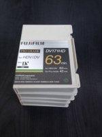 Lot de 4 cassettes Fuji miniDV 171 HD 63 min