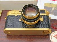 Leica M4-2 24 gold edition 50mm f:1.4 Summilux
