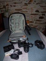 Vends Pack Photos CANON 600D