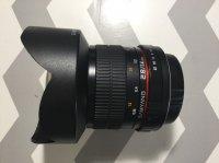 samyang 14 mm 2.8 AS IF UMC monture canon