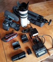 Kit complet CANON EOS 80D