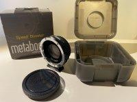 bague METABONES Speedbooster ULTRA 0.71x Canon EF to MicroFourThirds II (MB_SPEF-M43-BT4) firmware v3.31