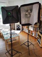 Kit projecteur daylight softbox