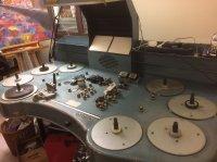Table de montage 16mm INTERCINÉ 2 images, 4 sons, 6 plateaux