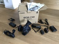 AFFAIRE !  CAMERA C100 EOS MARK II  Prix 1600,00 € TTC -Etat neuf : 42 H de tournage