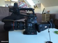 Canon C100 Mk1 + atomos ninja 2
