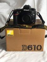 Appareil photo reflex numérique Nikon D610
