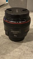 Vends objectif Canon 50mm F1.2 L USM
