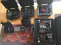 Rig video complet pour Canon 5D MK3 -MK4 avec valises.
