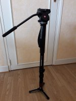 Monopode Manfrotto