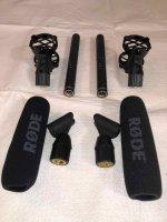 Une paire de micros RODE NTG-1