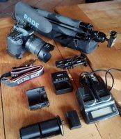CANON EOS 80D + accessoires