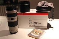 Objectif CANON Série L EF 70-200 f/4 L USM