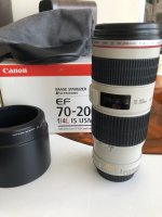 Objectif Canon EF 70-200mm F4L IS USM