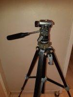 Trépied en Alu Noir pour appareil photo SLIK 35 D