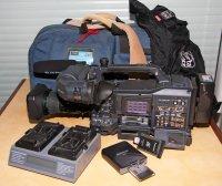 PANASONIC AG-HPX371E + accessoires