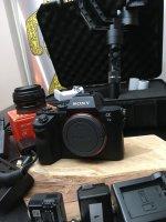 Sony Alpha 7II + 20mm 2.8 + stabilisateur