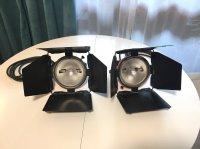 2 Projecteurs « Mandarine » Cosmolight 800W