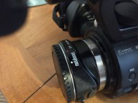 Caméra Sony NEX-FS100
