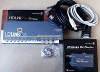 KIT BLACKMAGIC HDLINKPRO + ULTRASTUDIO MINI MONITOR : comme neuf !