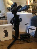 Vends RONIN S RONIN S : Kit standard avec follow focus et poignée vision neck handle