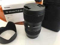 Objectif photo SIGMA ART 18-35 mm f/1.8 DC HSM monture Canon