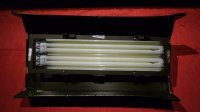 Éclairage Fluo 2 Tubes Dexel Power Flo DMX512