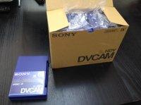 Lot de 10 Cassettes DVCAM Sony 64 min neuves