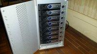Sonnet Fusion D800Raid 8x1TB + carte ATTO R380 PCI-Express