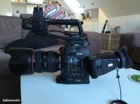Canon C100 MI + atomos ninja 2