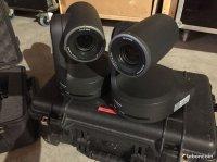 2 Caméras tourelles Panasonic HE120 + remote RP120