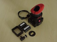 EVF Zacuto Viewfinder + accessoires