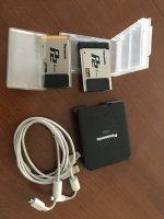 2 carte mémoire Panasonic P2 E série 64 GB + lecteur Carte Panasonic AJ-PCD2