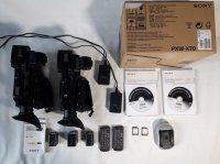 2 Caméras SONY PXW-X70 - Très bon état