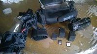 panasonic HC-X920 + micro rode +accessoires