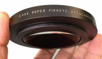 Bonnette super fisheye HDSF45X-82