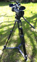 Caméra SONY HXR-NX5 + pied VINTEN Pro5