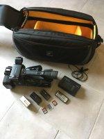 Caméra Sony HXR-NX5E