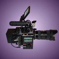 Red Scarlet-W dragon 5k + Follow-Focus intégré