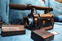 Caméra Sony PMW-F3 caméscope 35 mm professionnel cinema XDCAM EX