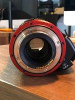 URGENT Vente objectif Canon  CN-E 70-200 T4.4