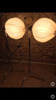 "2 boules chinoises KEY LITE 1000w + 2 pieds PIED CENTURY 40"" - double riser"